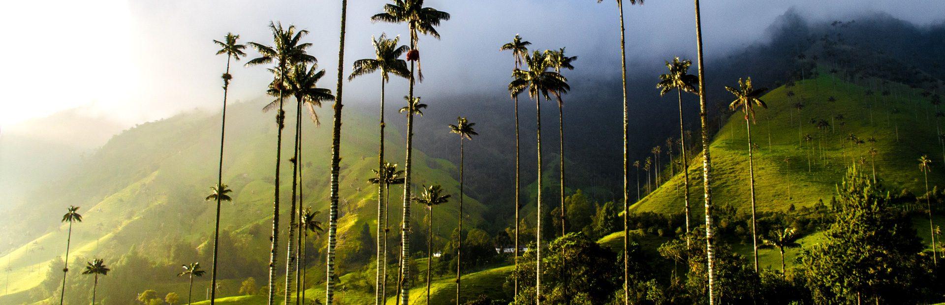 kolumbien urlaub - regionen übersicht