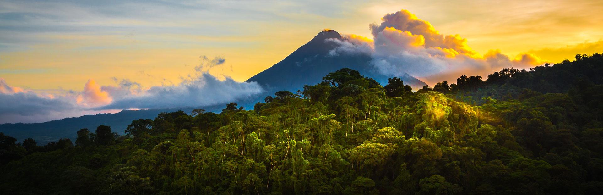 Vulkan bei Costa Rica Rundreisen