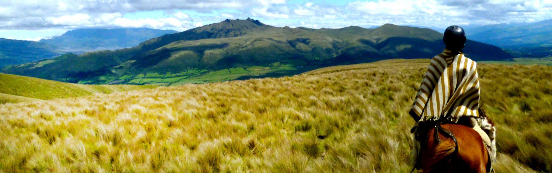 Landschaft bei Ecuador Reisen mit erlebe erkunden